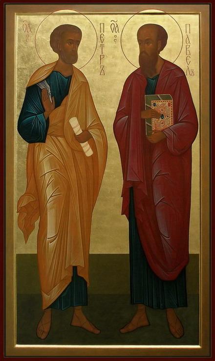 Икона Петра и Павла.